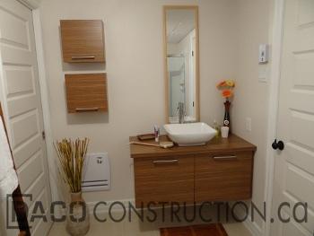 Nos r alisations daco construction entrepreneur g n ral - Construction salle de bain ...